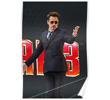 Robert Downey Jr Poster