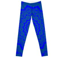 Psychedelic Blue Leggings