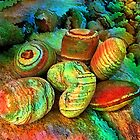 Colored stones by rafi talby   by RAFI TALBY