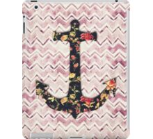 Cute zigzag anchor  iPad Case/Skin