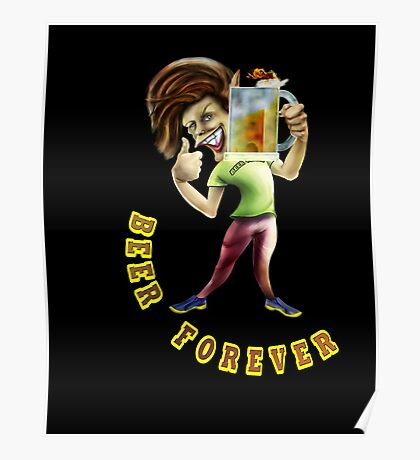 Beer Forever Poster
