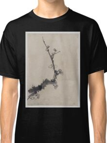 Fruit tree branch with blossoms 001 Classic T-Shirt