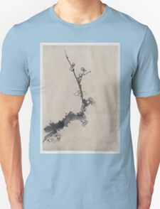 Fruit tree branch with blossoms 001 Unisex T-Shirt