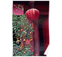 Vietnam. Hanoi. At the Temple on Hoan Kiem Lake. Poster