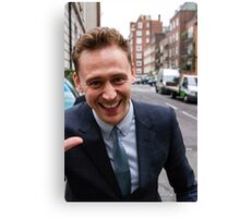 Tom Hiddleston Canvas Print