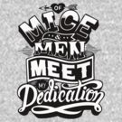 Of Mice & Men - Meet My Dedication T-Shirt by Mandarin  Lime