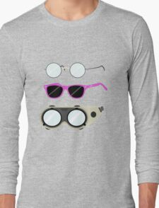 Glasses and Goggles- Potter/Starkid/Dr.Horrible Long Sleeve T-Shirt