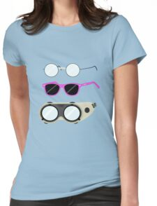 Glasses and Goggles- Potter/Starkid/Dr.Horrible Womens Fitted T-Shirt