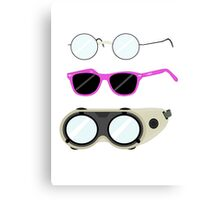 Glasses and Goggles- Potter/Starkid/Dr.Horrible Canvas Print