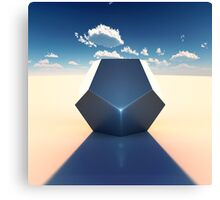Dodecahedron Canvas Print