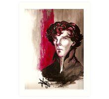 Sherlock - Into Darkness Art Print