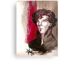 Sherlock - Into Darkness Metal Print