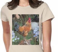 Farm talk - Artemis surveying his domain Womens Fitted T-Shirt