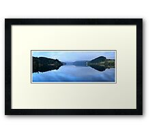 Lake Vrnwy Panorama Framed Print