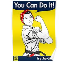 Try Jiu-Jitsu Poster