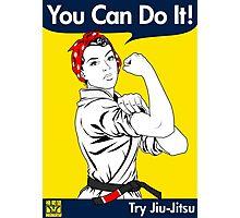 Try Jiu-Jitsu Photographic Print