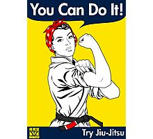 Try Jiu-Jitsu Photographic Print