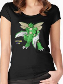 Scyther #123 Women's Fitted Scoop T-Shirt
