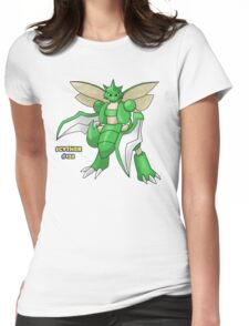 Scyther #123 Womens Fitted T-Shirt
