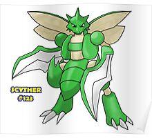 Scyther #123 Poster