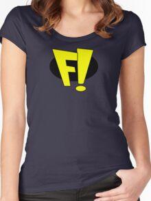 freakazoid logo Women's Fitted Scoop T-Shirt