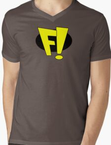 freakazoid logo Mens V-Neck T-Shirt