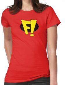 freakazoid logo Womens Fitted T-Shirt