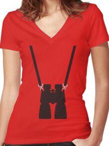 binoculars  Women's Fitted V-Neck T-Shirt