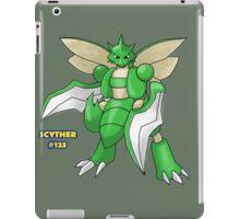 Scyther #123 iPad Case/Skin