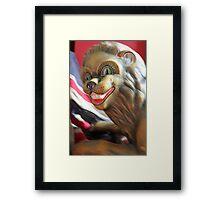 Fairground Merry-Go-Round Lion  Framed Print