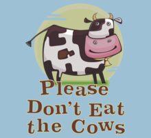 Please Don't Eat the Cows Kids Clothes