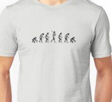 Backwards Evolution Unisex T-Shirt