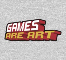 Games Are Art Kids Clothes