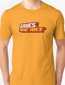 Games Are Art Unisex T-Shirt