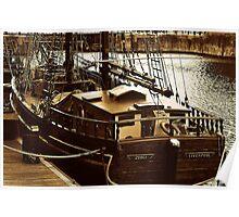 Sailing Ship ZEBU Poster