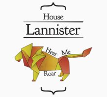 House Lannister - Stained Glass by Jack Howse