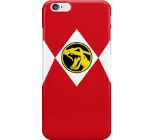 Red Poké Ranger iPhone Case/Skin
