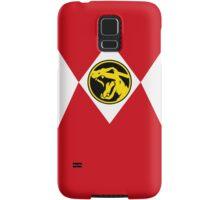 Red Poké Ranger Samsung Galaxy Case/Skin