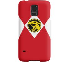 Red Poké Ranger Samsung Galaxy Case/Skin