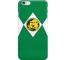 Green Poké Ranger iPhone Case/Skin