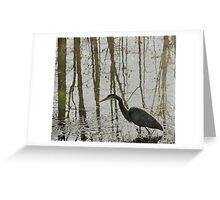 Reflection on the Hunt Greeting Card