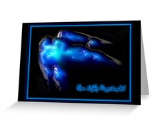 ©NLE-DA Bubble Lights I Greeting Card