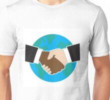 World Hand Shake Unisex T-Shirt