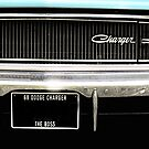 Classic Dodge Charger close up 2 by twistedfashion