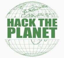 Hack The Planet Kids Tee