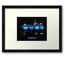©NLE-DA Bubble Lights II Framed Print