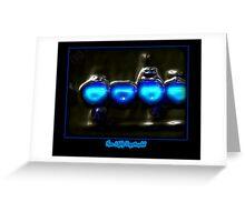 ©NLE-DA Bubble Lights II Greeting Card