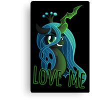 LOVE ME Chrysalis Poster (My Little Pony: Friendship is Magic) Canvas Print
