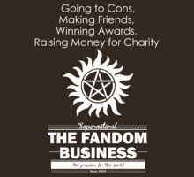 The Fandom Business - White by jamiewood