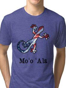 All American Hawaiian Gecko Tri-blend T-Shirt